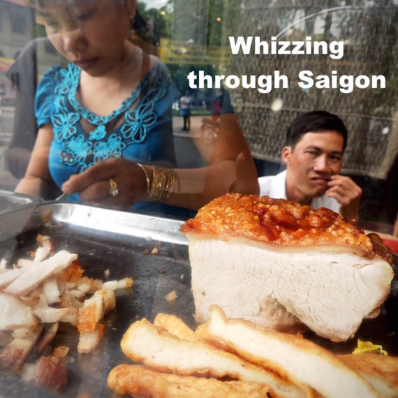 Whizzing through Saigon