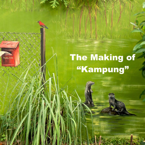 "The Making of ""Kampung"" Mural"