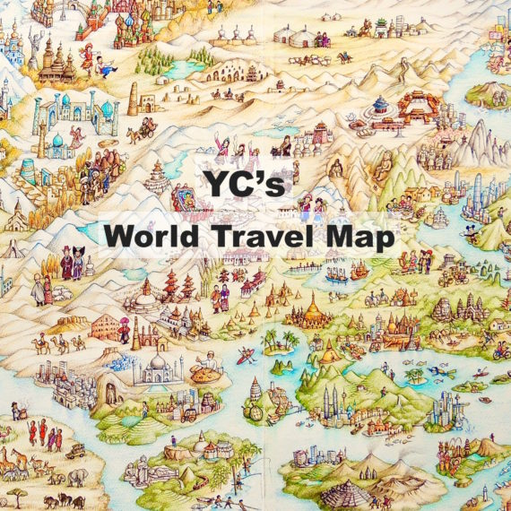 YC's World Travel Map