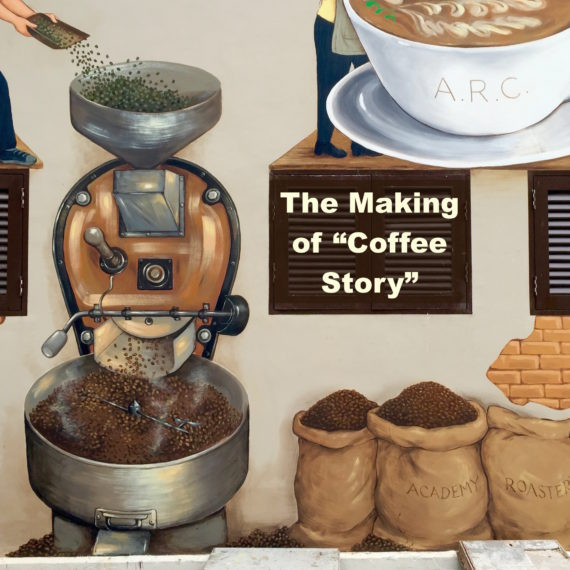 "The Making of ""Coffee Story"" Mural"