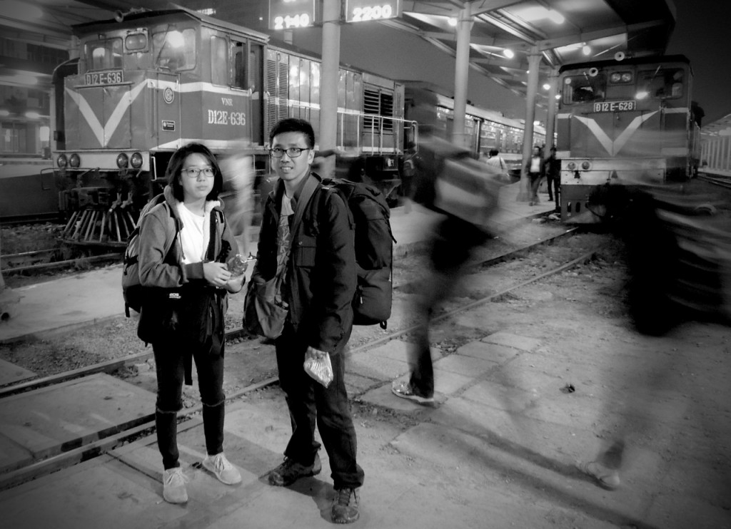 Beginning of the Journey (at Hanoi Train Station)