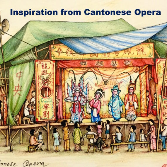 Inspiration from Cantonese Opera
