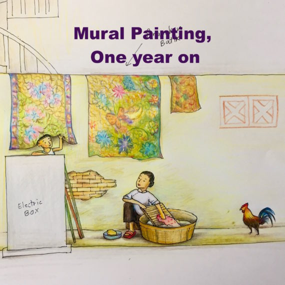 Mural Painting, One Year On