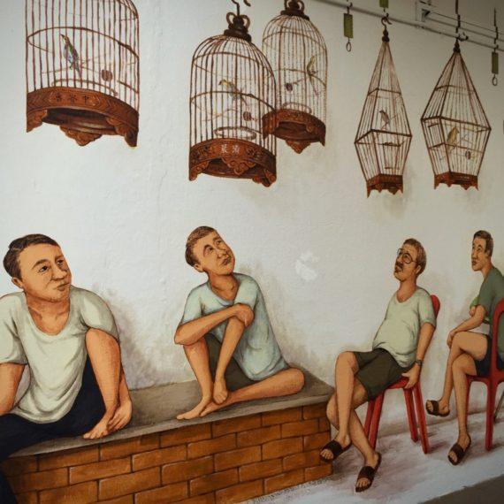 Bird Singing Corner