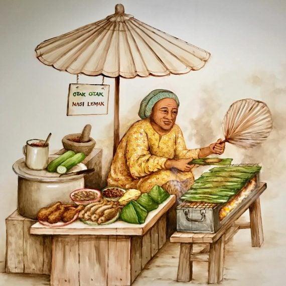 Singapore Rojak – Nasi Lemak