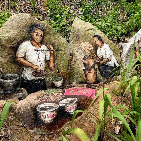 Ethnobotany Medicinal Mural