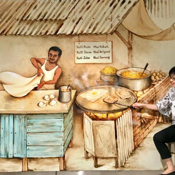 Singapore Rojak – Roti Prata
