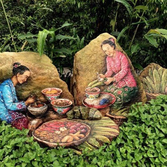 Ethnobotany Cultural Mural