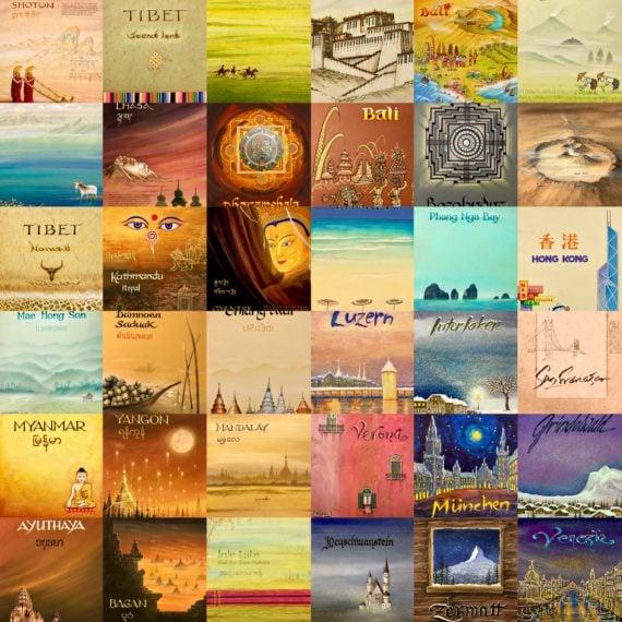 Travel Album Covers