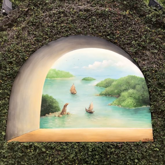 Through the Windows – Sentosa Island